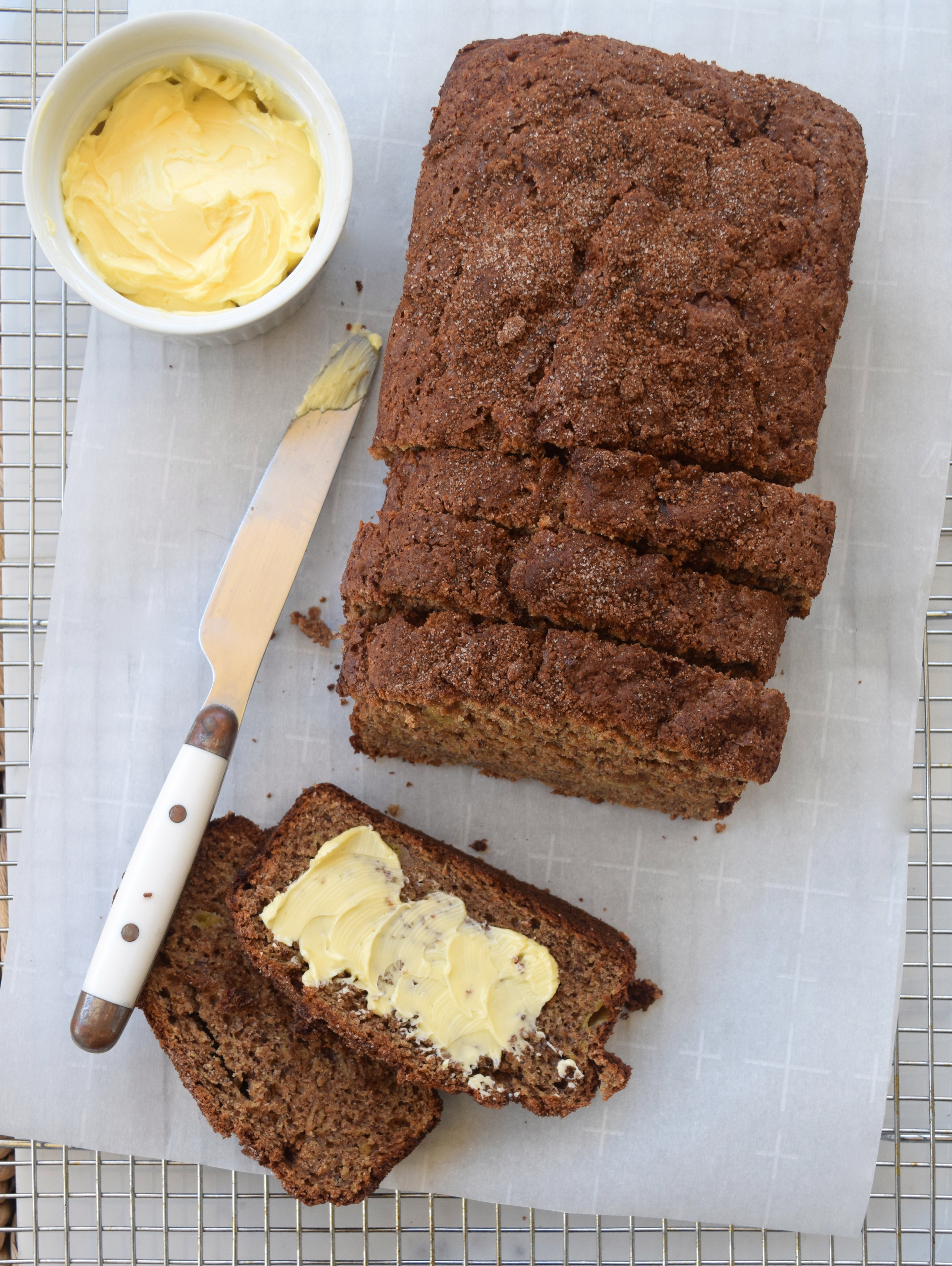 Browned Butter Banana Bread   What Annie's Eating